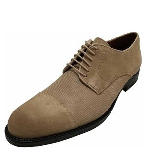 Alfani Men's Cap-Toe Oxfords Shoes Camel Brown 12